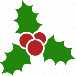 berries, christmas, decoration, kiss, leaves, mistletoe, tradition icon
