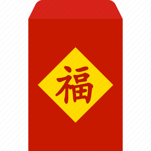 chinese, envelope, hongbao, new, packet, red, year icon