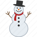 christmas, man, sculpture, snow, snowman, snowperson, winter