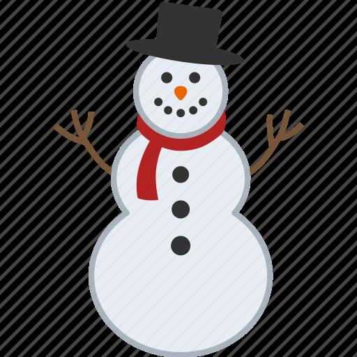 christmas, man, sculpture, snow, snowman, snowperson, winter icon