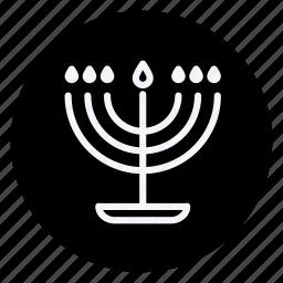 candle, celebration, christmas, decoration, haloween, holiday, xmas icon