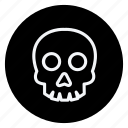 celebration, christmas, haloween, holiday, skull, winter, xmas icon