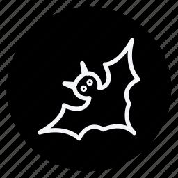 bat, celebration, christmas, haloween, holiday, winter, xmas icon