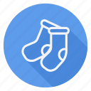 celebration, christmas, decoration, halloween, holiday, socks, winter icon