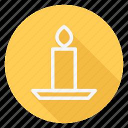 candle, celebration, christmas, halloween, holiday, winter, xmas icon