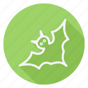 bat, celebration, christmas, halloween, party, winter, xmas icon