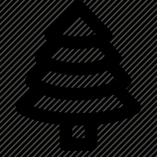 christmas, holidays, travel, tree, vacation icon