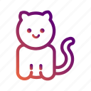 animal, cat, feline, halloween, holiday, party, pet icon