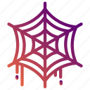 cobweb, halloween, holiday, party, spider, spiderweb, web icon
