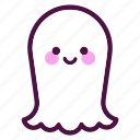 dead, face, ghost, ghosts, halloween, holiday, party icon