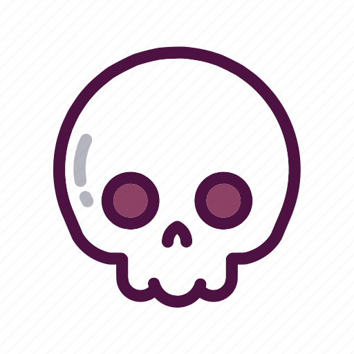Bones, dead, face, holiday, party, skull, halloween icon - Download on Iconfinder