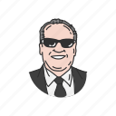 action star, actor, filmmaker, hollywood actor, jack nicholson, man, old man icon