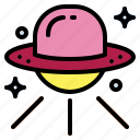 alien, science, spaceship, ufo icon