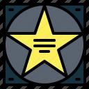 award, entertainment, fame, of, recognition, walk icon