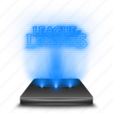 entertainment, game, hologram, league, legends icon
