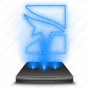 catalyst, edge, entertainment, game, hologram, holographic, mirrors icon