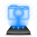 cam, camera, hologram, photo, photography, photos, picture icon