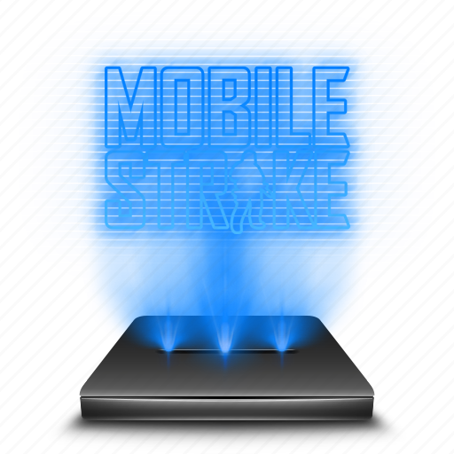 entertainment, game, hologram, mobile, strike icon