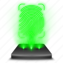 android, app, application, drawer, hologram icon