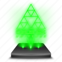 deus, ex, game, hologram icon