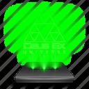 deus, ex, game, hologram, holographic icon