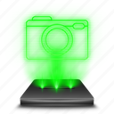 camera, hologram, holographic, image, photocamera, photography, shot icon