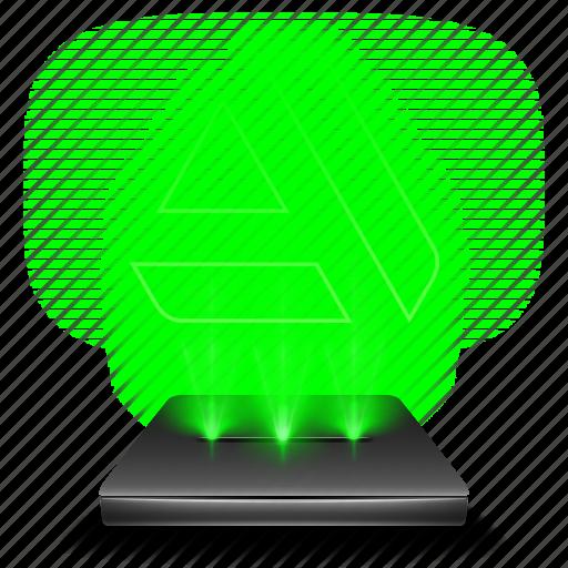 art, artist, graphic, hologram, portal, social, station icon