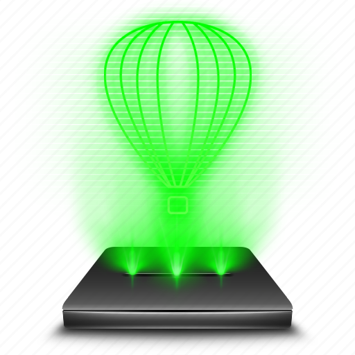 corel, creative, design, draw, drawing, graphic, hologram icon