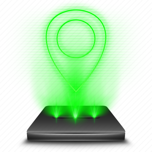 google, gps, hologram, location, maps, navigation, pin icon