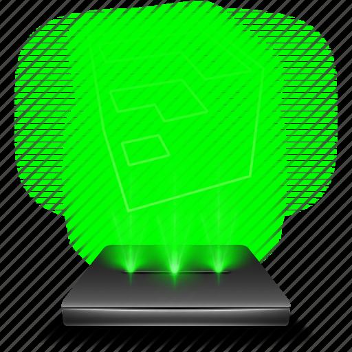 google, hologram, holographic, sketch, up icon