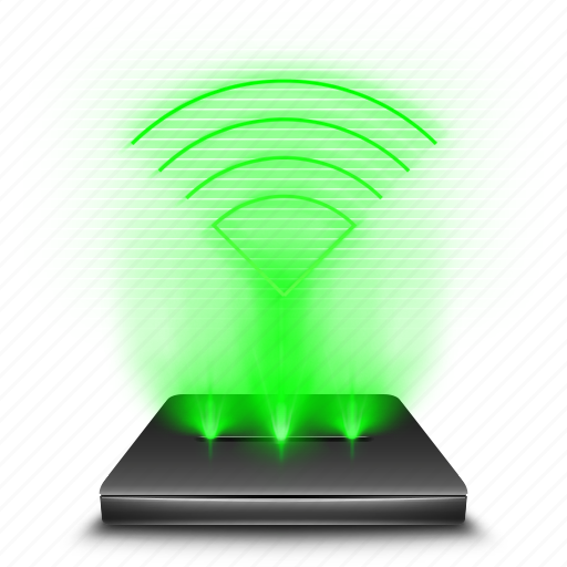 communication, connection, hologram, holographic, wifi, wireless icon