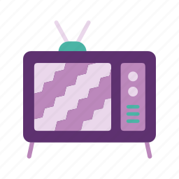 furniture, home, living room, screen, television, tv icon