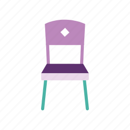 chair, decor, dining, furniture, home, seat, table icon