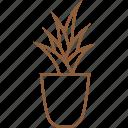 flower, flowerpot, jar, jug, pot, vase, vessel icon