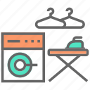 laundry, machine, wash, washroom icon