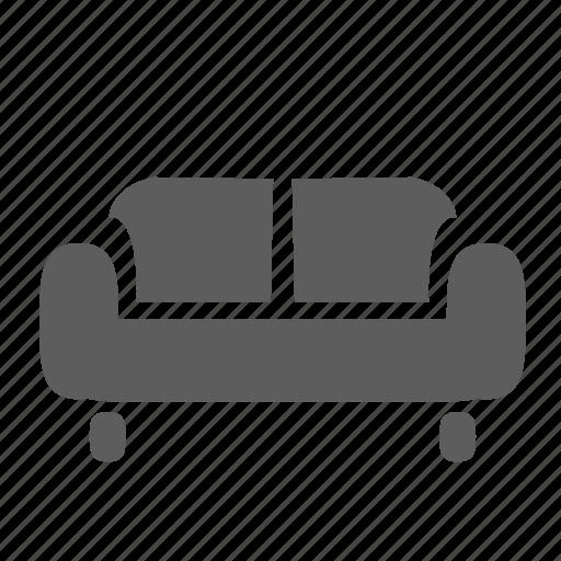 apartment, couch, furniture, home, interior, seat, sofa icon