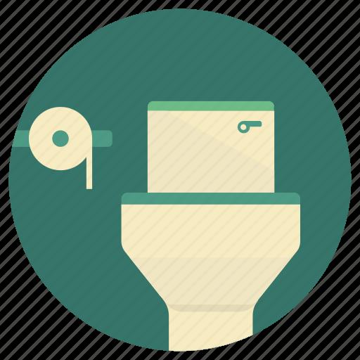 bathroom, bowl, lifestyle, sanitary, toilet, washroom, wc icon