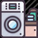 furniture, interior, machine, washing icon