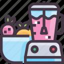 blender, furniture, interior, juice icon