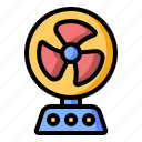 appliance, cooler, electronics, fan, household icon