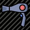 appliance, barber, blower, hairdryer, salon icon