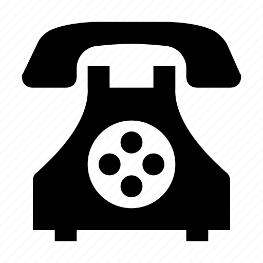 communicate, dial, landline, retro phone, telecommunication, telephone, telephone set icon