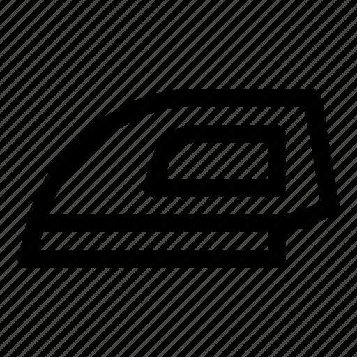 clothes iron, electric steam iron, flatiron, iron, small appliance icon
