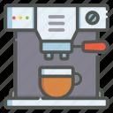coffee, maker, hot, beverage