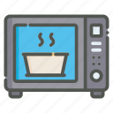 microwave, oven, cooking, kitchen