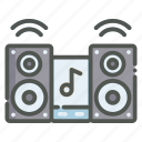 music, player, audio, speaker