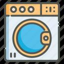 washing, washer, laundry, machine