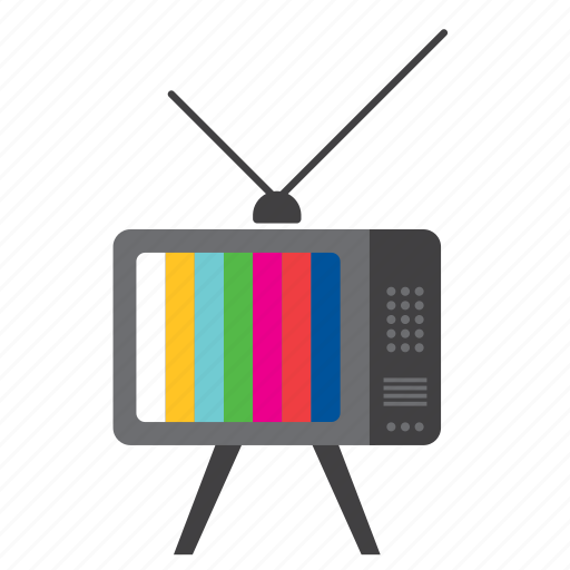 appliance, home, pattern, television, televisor, test, tv icon