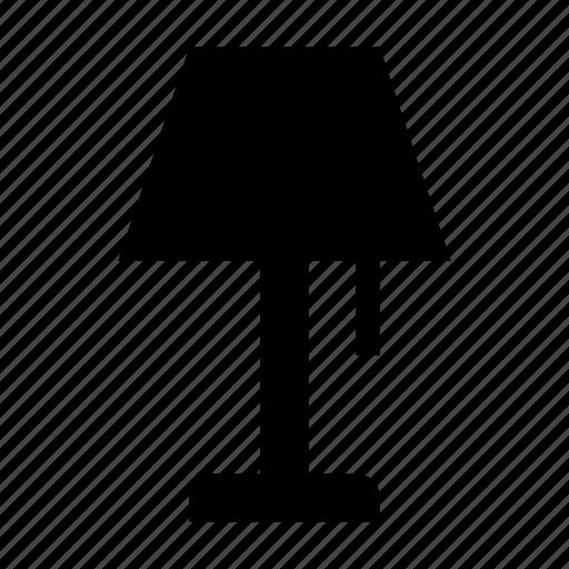 electric lamp, floor lamp, interior decoration, lamp, lamp light icon