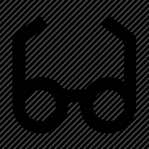eyeglasses, glare glasses, shades, spectacles, sun glasses icon